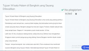 Tujuan Wisata Malam di Bangkok